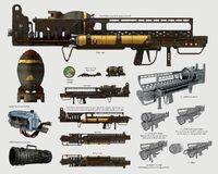 Art of Fallout 4 Fat Man