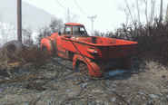 FO4 Pick R Up Rear View