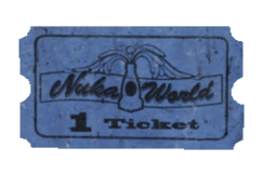 FO4NW Nuka-Cade ticket