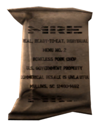 MRE consumable