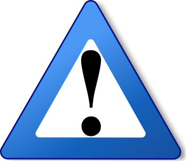 File:Warning blue.png