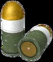 FNV 40mm grenade round
