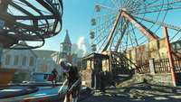 Fallout4 NukaWorld FerrisWheel