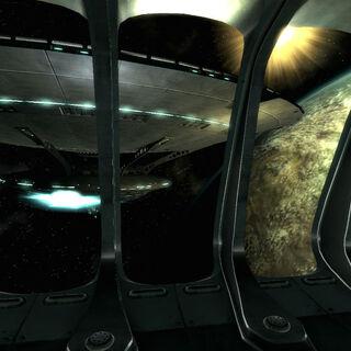 Alien ships