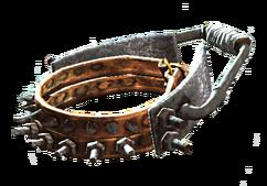 Reinforced dog collar