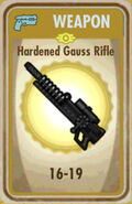 FoS Hardened Gauss Rifle Card