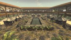 Gomorrah courtyard