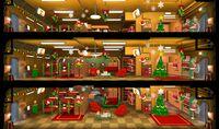 Christmas LivingQuarters