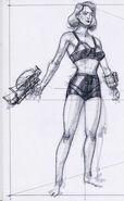 Female underwear CA3