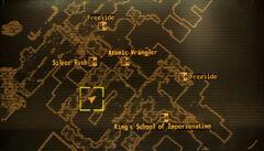 Kingmans BBQ loc map