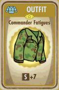 FoS Commander Fatigues Card