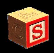 Wooden block S