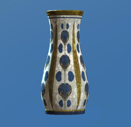 File:Empty floral flared vase.png