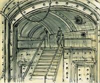 Vault art tunnel