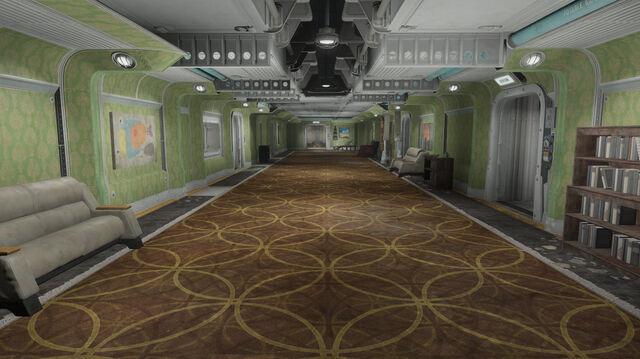 File:FO4-FarHarbor-Vault118-Hallway-Floor1-Green.jpeg