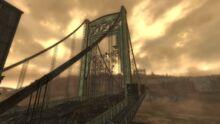 The Pitt Bridge from the city