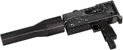Rheinmetall 9mm machine pistol suppressor mods hand