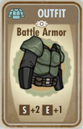 FoS Battle Armor Card
