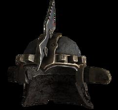 Marked beast helmet