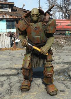 Hammer supermutant