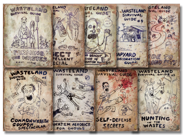 File:FO4 Wasteland Survival Guide Collage.png