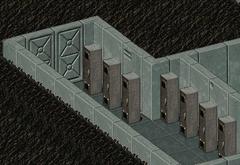 Blue memory module locker