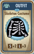 FoS Skeleton Costume Card