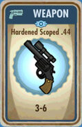 FoS Hardened Scoped .44 Card