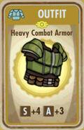 FoS Heavy Combat Armor Card