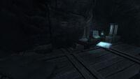 Survivalist hidden cache Stone Bones cave