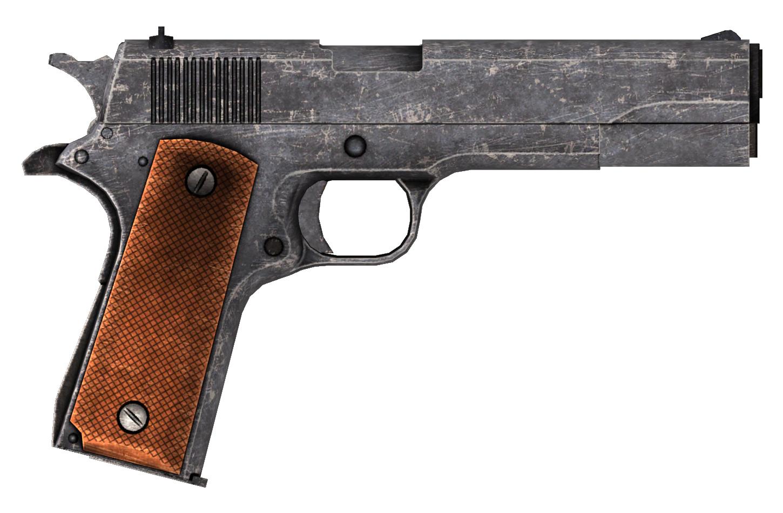 Image - .45 Auto pistol.png | Fallout Wiki | FANDOM ...