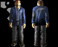 Powder Gang plain outfit