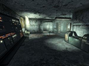 Talon Company camp interior