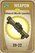 FoS Enhanced Missile Launcher Card