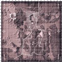 New Vegas Clean Map 1360x1360