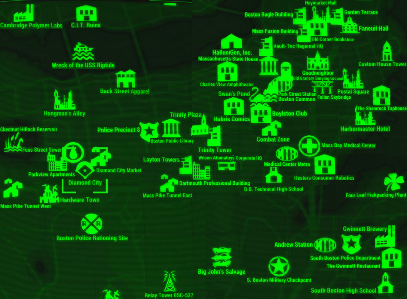 Fájl:FO4 map Diamond City.jpg