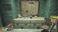 FO4 Gorski Cabin workbench