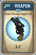 FoS Armor Piercing Scoped .44 Card