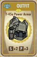 FoS T-45a Power Armor Card