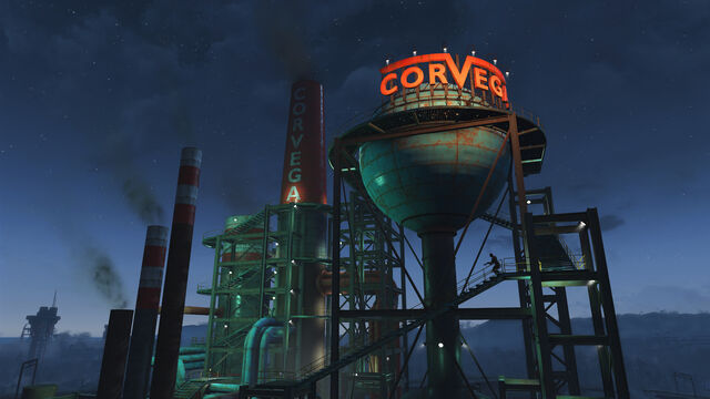 File:FO4 Corvega assembly plant at night.jpg