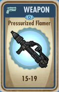 FoS Pressurized Flamer Card