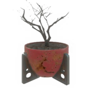 Fo4 red potted plant3