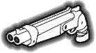 Alternate sawed-off shotgun icon