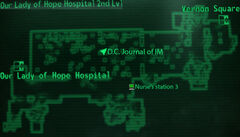 Our LoH hospital 2nd level loc map