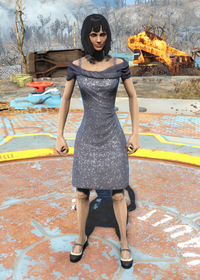 Fo4Sequin Dress