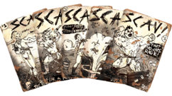 SCAV! magazine collage