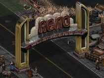 New reno sign