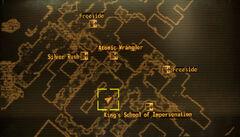 Travel Service loc map