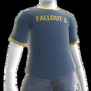 Fallout 3 Ringer Shirt M