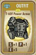 FoS T-60f Power Armor Card